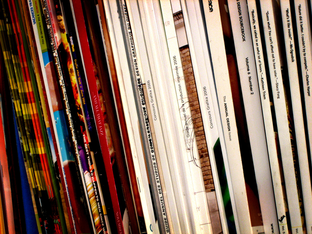 Collections of magazines