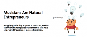Berkle article clip image